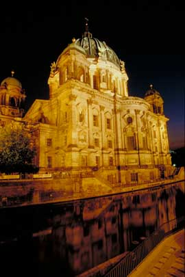 The Berlin Dome at Night